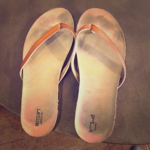 Mossimo leather sandals